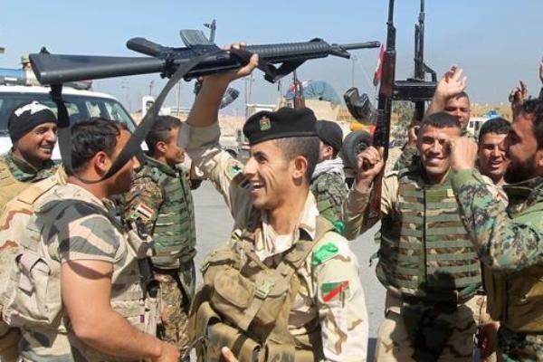 پیشروی ارتش عراق در فلوجه