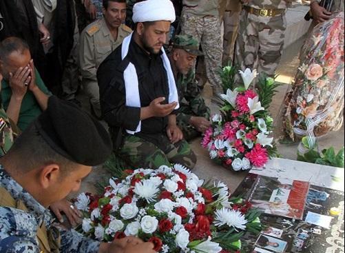 قتلگاه داعش در تکریت به زیارتگاه تبدیل شد + تصاویر
