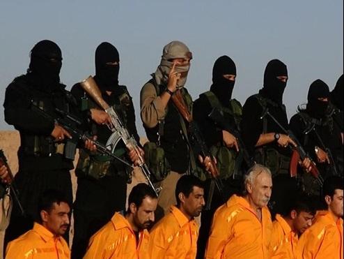 داعش 11 نیروی بسیج مردمی را اعدام کرد