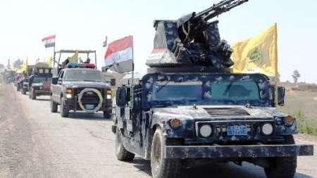 پیشروی نیروهای ارتش عراق در استان الانبار