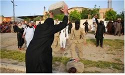 شیوه جدید اعدام توسط جلادان داعش