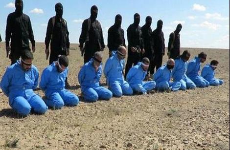 تغییر رنگ لباس قربانیان داعش