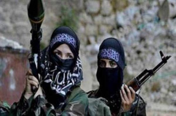 دختران فرانسوی در کنار تروریستهای داعش