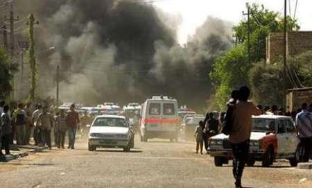 انفجار 8 بمب دراستان دیاله عراق