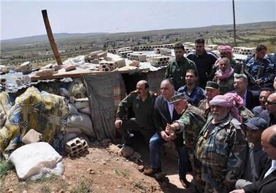 جنگ برای تصاحب گاز حمص +تصاویر