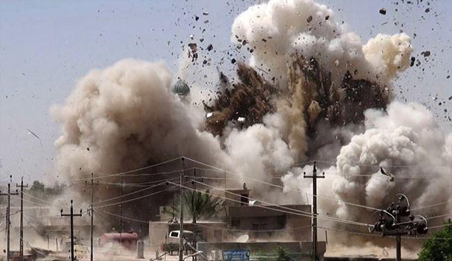 انفجار مسجد «بکرافندی» موصل