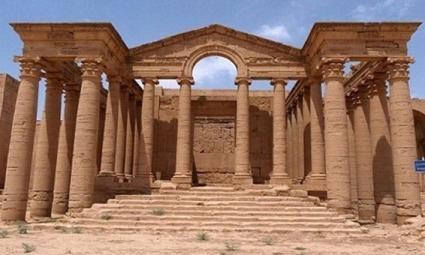 داعش ورودی های قلعه باستانی آشور را منفجر کرد