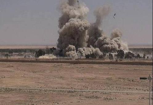 داعش زندان بزرگ تدمر سوریه را منفجر کرد + تصاویر
