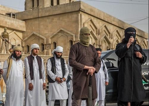 اعدام مردان شهر موصل