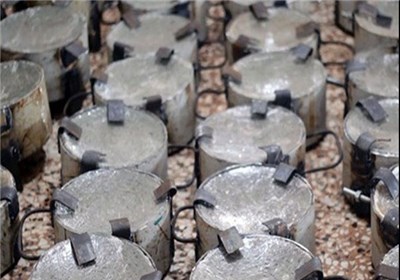 انهدام کارخانه بمب سازی داعش در عراق