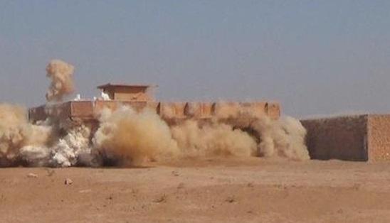 منفجر کردن منازل اهل سنت عراق به دست داعش