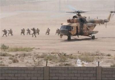 انهدام مخفیگاه سرکردگان داعش در القائم