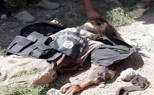 هلاکت فرمانده بعثی داعش در فلوجه