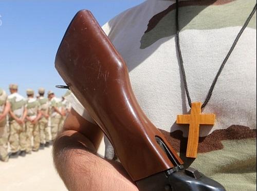 آموزش مسیحیان برای جنگ با داعش+تصاویر