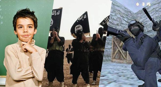 بازی جدید داعش در کمین کودکان