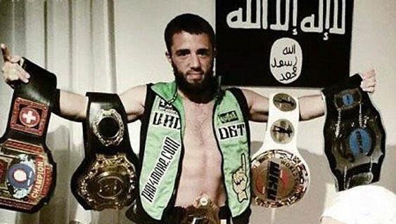 هلاکت قهرمان کیکبوکسینگ جهان درتیم داعش