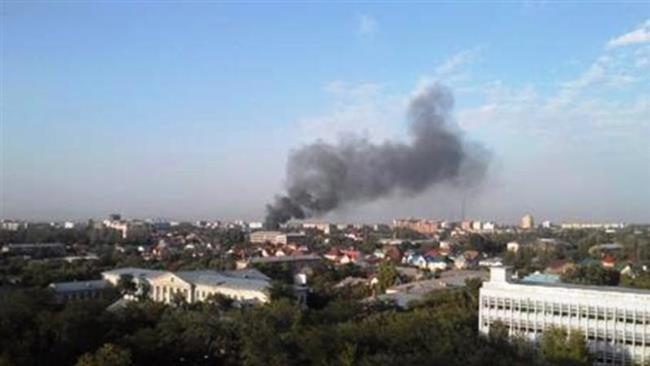 انهدام مقر فرماندهی عملیات داعش در الرمادی