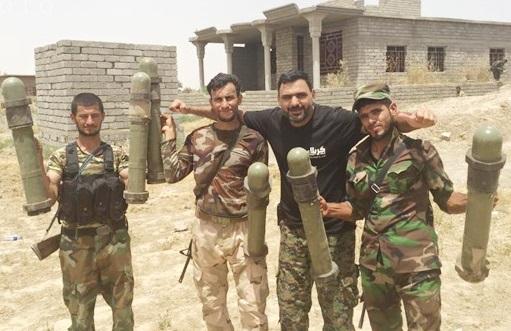 کشف سلاح های آمریکایی از مخازن سلاح داعش