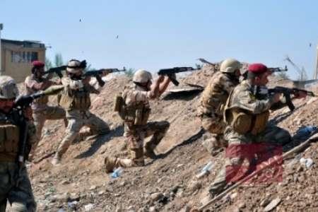 دفع حمله داعش در شمال فلوجه