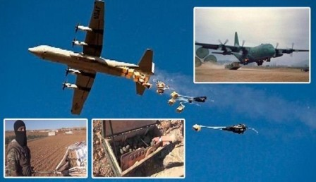 ارتباط بی سیمی خلبانان عرب با داعش