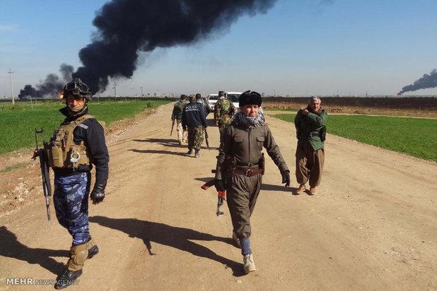 هلاکت 784 تروریست داعش در ماه جولای در موصل