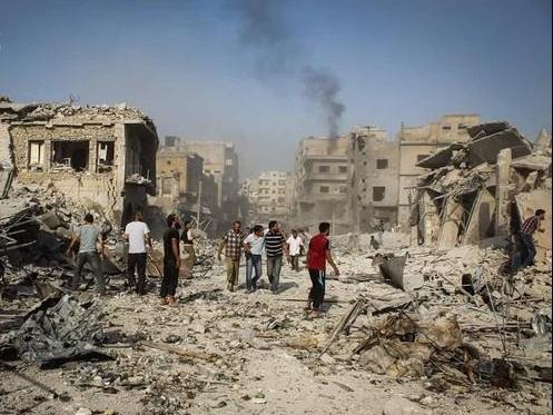 سقوط یک فروند جنگنده ارتش سوریه