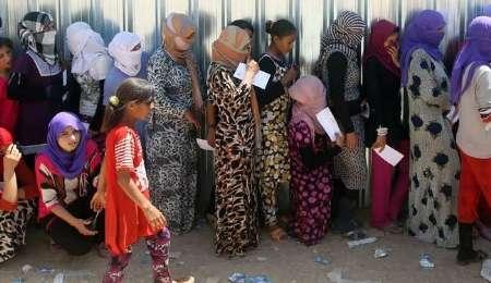 داعش دختران ایزدی را می فروشد