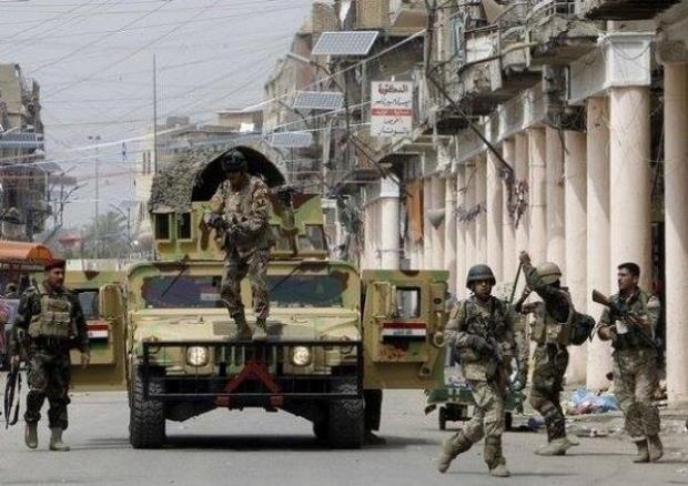 کشته شدن داعشی های چینی در شرق الرمادی