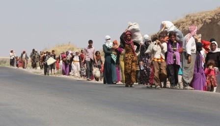 فرار صدها مسیحی سوری از بیم حملات داعش