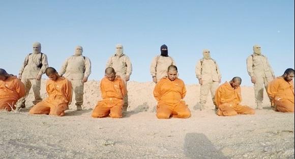 اعدام دسته جمعی مردان سنی عراقی به دست داعش