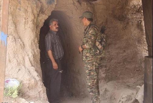 کشف تونلهای رفت و آمد عناصر داعش به ترکیه