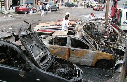 حمله تکفیریها به پایگاه طرفداران بشار اسد