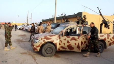 بمباران مواضع داعش در بنغازی