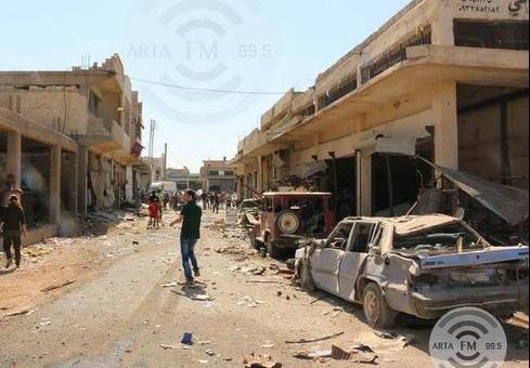 حمله انتحاری داعش به مقر نیروهای نظامی کُرد