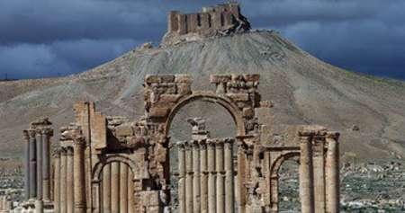 انفجار معبد معروف «بعل شمین» در سوریه