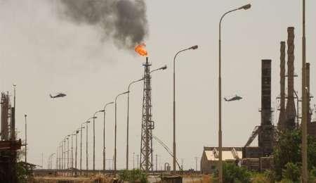 بمباران پالایشگاه تحت کنترل گروه تروریستی داعش