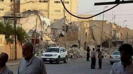 داعش یک مسجد در موصل را با خاک یکسان کرد