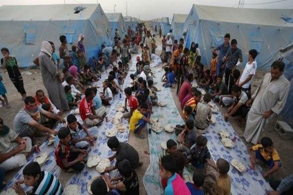 فرار خانواده های عراقی از جهنم داعش در کرکوک