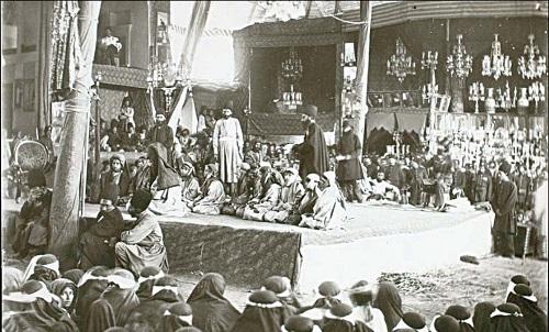 مشاهدات  جهانگردان خارجی از مراسم عزای حسینی