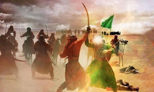 نبرد جانانه و وفادارانه یاران امام حسین (ع) در عاشورا