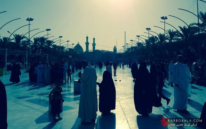 گزارش تصویری از  سفر به کربلا در ماه رمضان/ ارسالی از خادمین