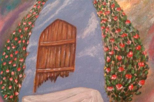 «حرم آسمانی»؛ عرض ارادت هنرمند بوسنیایی به حضرت زهرا (س)