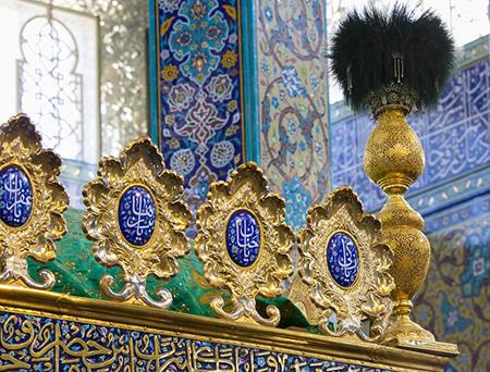 کارگاه ساخت نیم ضریح امیرالمؤمنین (ع) افتتاح شد