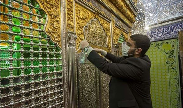 اقدامات آستان  مقدس حضرت ابوالفضل (ع) جهت حفظ سلامت زائران
