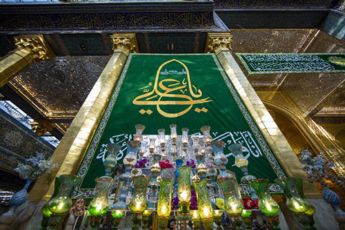 حال و هوای کربلای در سالروز ولادت حضرت علی (ع) / گزارش تصویری