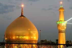 گنبد حرم امام حسین علیه السلام مرتفع میشود