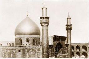 تصاویری نادر و قدیمی از بارگاه امیرالمومنین (علیه السلام)