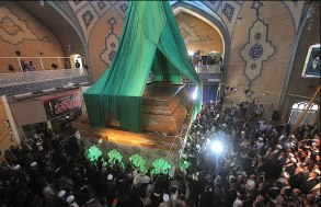 تصاویر رونمایی از ضریح امام حسین علیه السلام