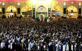 گزارش تصویری از مراسم بزرگداشت ایام مسلمیه در مسجد کوفه