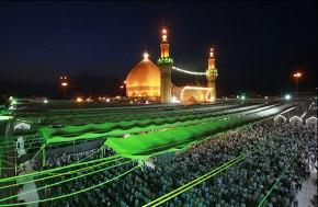 تصاویر حرم مطهر امیرالمومنین حضرت علی ابن ابیطالب علیه السلام در روز عید غدیر